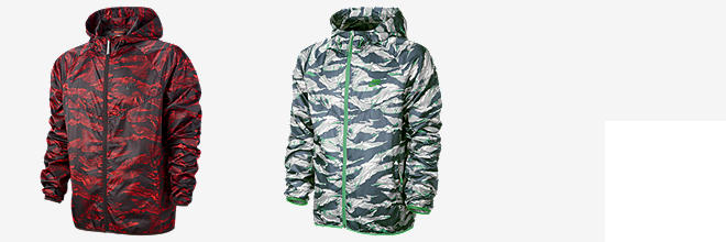 Nike Packable Camo Lightweight Windrunner