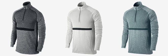Nike Dri-FIT Knit Long-Sleeve Half-Zip