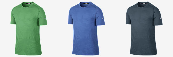 Nike Dri-FIT Knit Novelty Printed Short-Sleeve