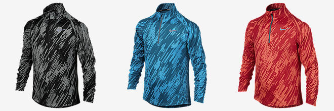 Nike Element Jacquard Half-Zip Long-Sleeve