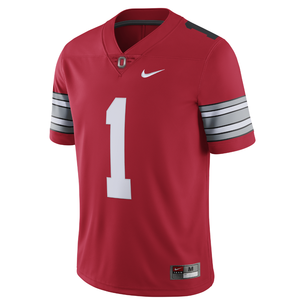 Nike Football Limited (Ohio State) Men's Jersey Size Medium (Red)