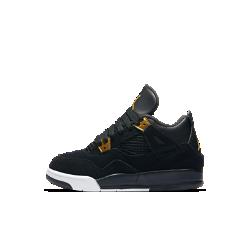 Кроссовки для дошкольников Air Jordan 4 RetroКроссовки для дошкольников Air Jordan 4 Retro с верхом из дышащей поддерживающей сетки и кожи — новая версия любимой модели в ретро-стиле.<br>