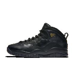 Мужские кроссовки Air Jordan 10 RetroМужские кроссовки Air Jordan 10 Retro с мягкой и легкой системой амортизации и культовыми элементами Air Jordan обеспечивают функциональный комфорт.<br>