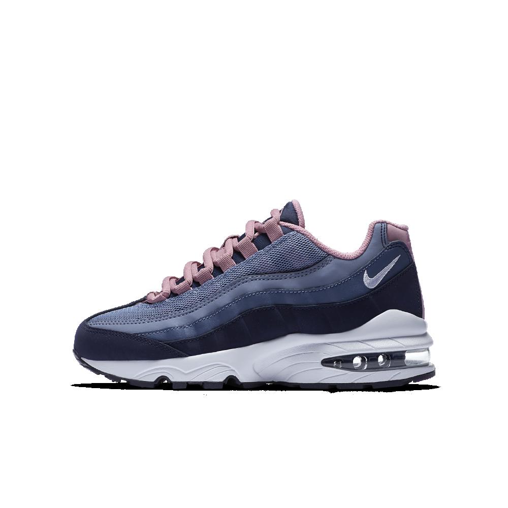 Nike Air Max  95 LE Girls  Shoe Size 6.5Y (Blue)  05a380ec7