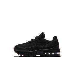 Кроссовки для дошкольников Nike Air Max 95Кроссовки для дошкольников Nike Air Max 95 с видимой вставкой Max Air в области пятки и вставкой Air-Sole в передней части стопы обеспечивают превосходную амортизацию и комфортна весь день.<br>