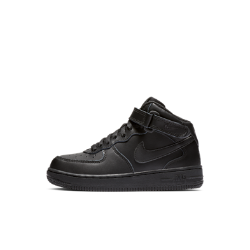 Кроссовки для дошкольников Nike Air Force 1 MidНовое воплощение легенды: кроссовки для дошкольников Nike Air Force 1 с надежным ремешком в области голеностопа, мягкой амортизацией и легендарным внешним видом.<br>