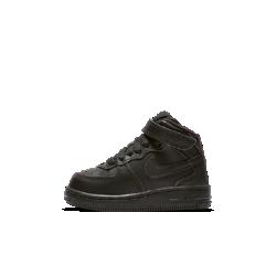 Кроссовки для малышей Nike Air Force 1 MidОбувь для малышей Nike Air Force 1 Mid с кожаным верхом и легкой системой амортизации обеспечивает комфорт для самых юных атлетов.<br>