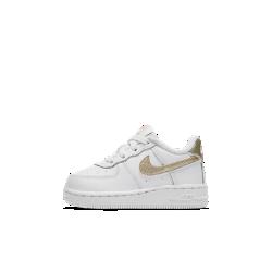 Кроссовки для малышей Nike Air Force IКроссовки для малышей Nike Air Force 1 — новая версия легендарных AF-1 с современными деталями, сочетающая классический стиль, новые материалы и контрастную расцветку.<br>