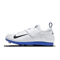 Шиповки унисекс для прыжков Nike Zoom Pole Vault IIКонструкция шиповок унисекс для прыжков Nike Zoom Pole Vault II отличается невероятной легкостью, а эластичная внутренняя вставка и система Dynamic Fit обеспечивают идеальную посадку, позволяя использовать их как для тренировок, так и для соревнований. Подошва Pebax&amp;#174;и продуманное расположение съемных шипов обеспечивают максимальное сцепление с поверхностью.<br>