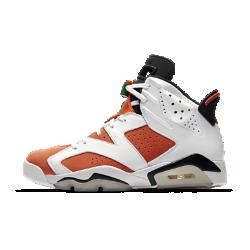 """Мужские кроссовки Air Jordan 6 Retro """"Like Mike""""Релиз Air Jordan VI состоялся в год, когда Майкл Джордан привел «Чикаго Буллз» к первой победе в чемпионате. Мужские кроссовки Air Jordan 6 Retro созданы в стиле рекламной кампании Like Mike 1991 года, которая стала символом поколения.<br>"""