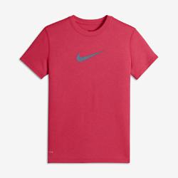 Футболка для тренинга для девочек школьного возраста Nike LegendФутболка для тренинга для девочек школьного возраста Nike Legend из дышащей влагоотводящей ткани обеспечивает длительный комфорт.<br>