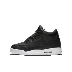 Детские кроссовки Air Jordan 3 RetroДетские кроссовки Air Jordan 3 Retro с видимой вставкой обеспечивают ту же невесомую амортизацию, которая сделала комфортным оригинал. Кроссовки украшены фирменными деталями в честь головокружительной карьеры звезды баскетбола.<br>