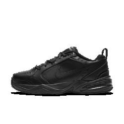 <ナイキ(NIKE)公式ストア>ナイキ エア モナーク IV ライフスタイル/ジムシューズ 415445-001 ブラック 30日間返品無料 / Nike+メンバー送料無料画像