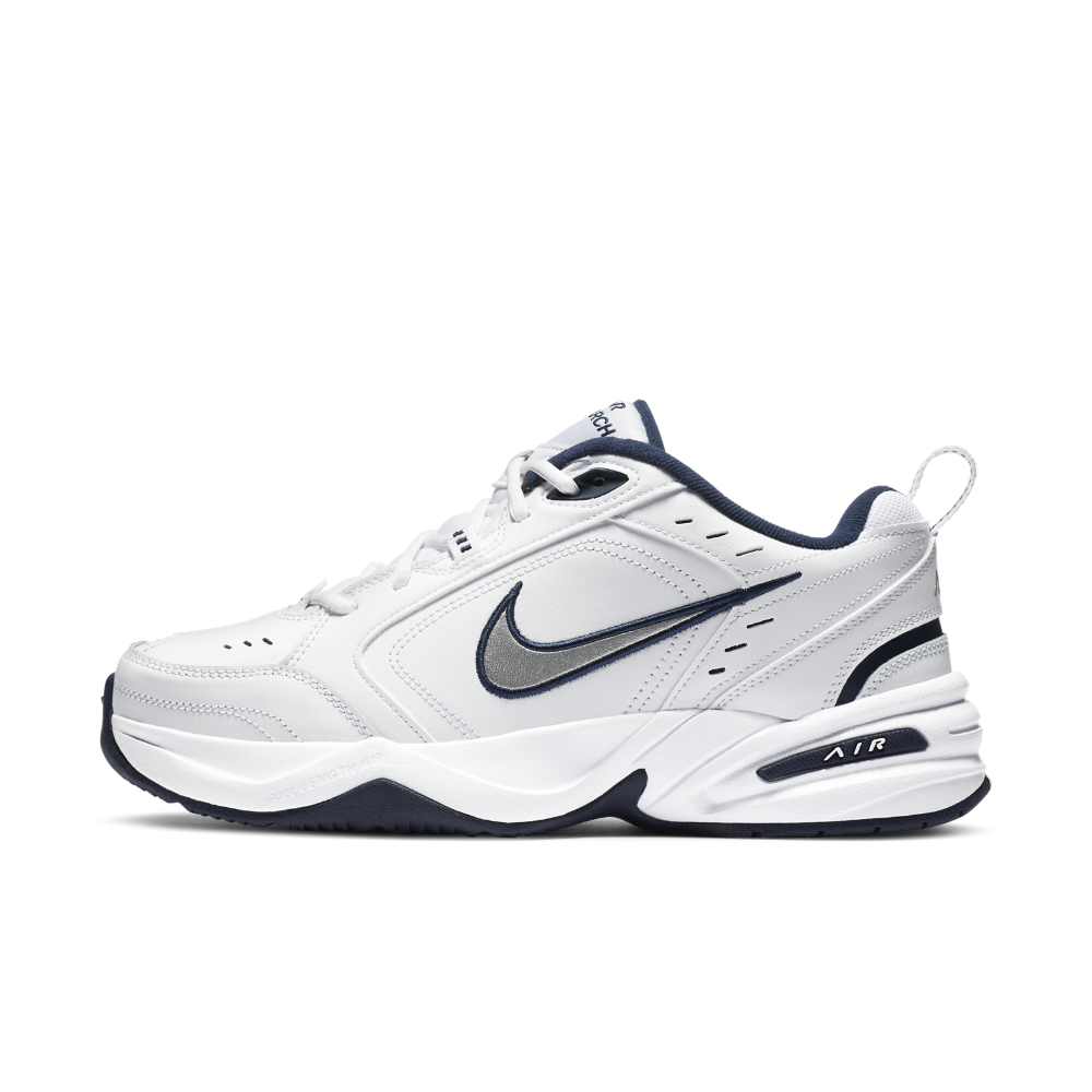 Nike Air Monarch IV Men's Training Shoe Size 11.5 (White) - Clearance Sale