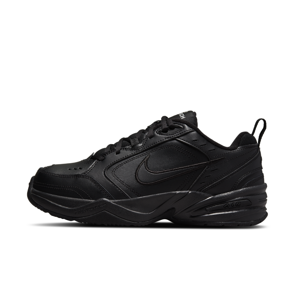 Nike Air Monarch IV (Extra Wide) Men's Training Shoe Size 11 (Black) - Clearance Sale