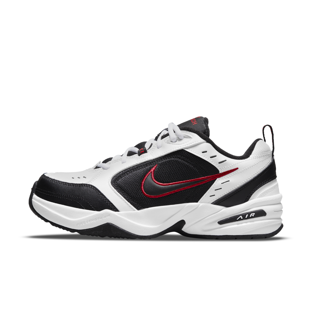 Nike Air Monarch IV (Extra Wide) Men's Training Shoe Size 13 (White) - Clearance Sale