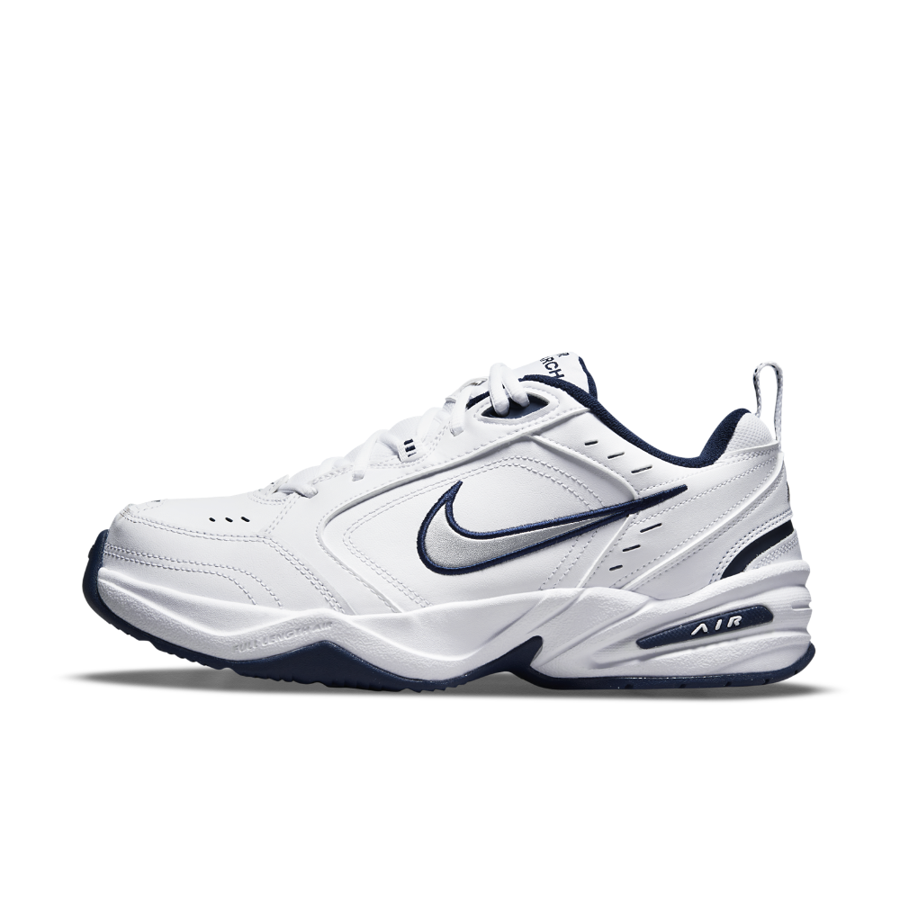 Nike Air Monarch IV (Extra Wide) Men's Training Shoe Size 11.5 (White) - Clearance Sale