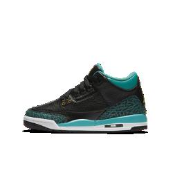 Кроссовки для школьников Air Jordan 3 RetroКроссовки для школьников Air Jordan 3 Retro создают яркий образ в баскетбольном ретро-стиле и обеспечивают превосходную защиту от ударных нагрузок благодаря комфортномукожаному верху и видимой вставке Max Air в области пятки.<br>