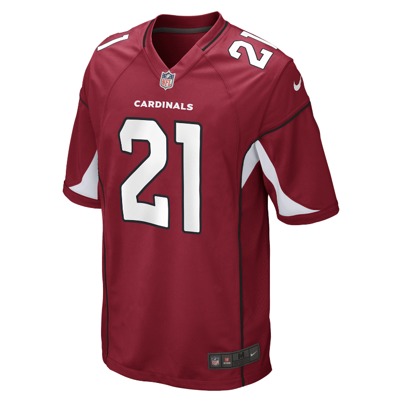 Image For NFL Arizona Cardinals (Patrick Peterson) Men's American Football Home Game Jersey