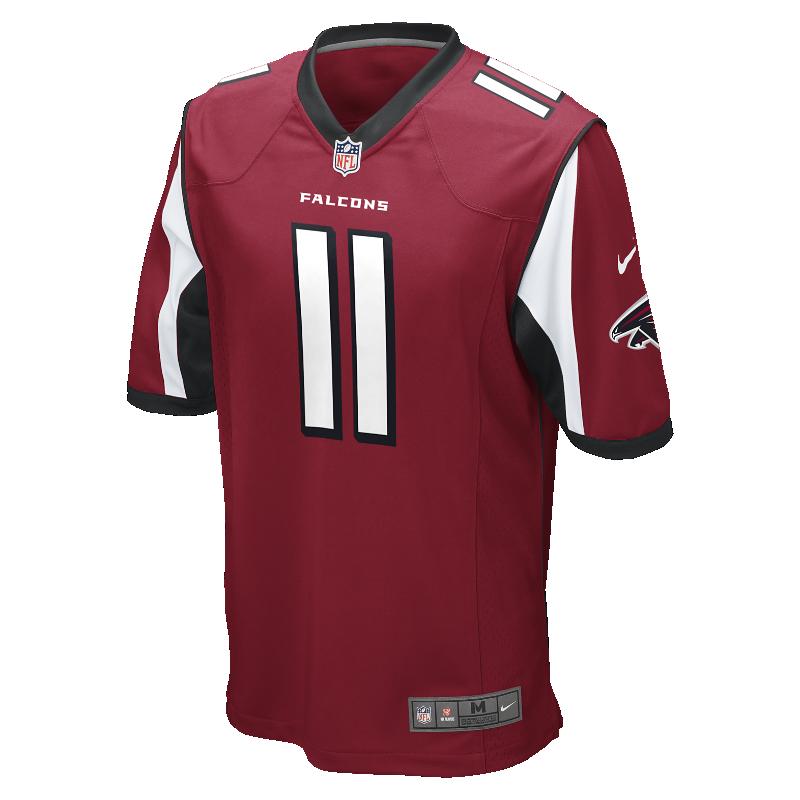 Image For Maglia da football americano NFL Atlanta Falcons (Julio Jones) Home Game - Uomo
