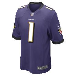 Мужское джерси для американского футбола для игры на своем поле NFL Baltimore Ravens (Rookie)Болей за любимую команду в джерси NFL Baltimore Ravens Game Jersey, созданном под вдохновением от игры ее лучших игроков, и сохраняй абсолютный комфорт.<br>