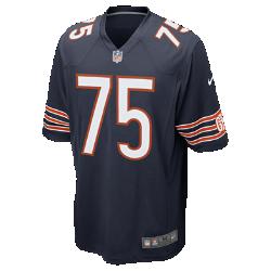 Мужское джерси для американского футбола NFL Chicago Bears Game (Kyle Long)Болей за любимую команду в джерси NFL Chicago Bears, вдохновленном настоящей игровой формой, и сохраняй абсолютный комфорт.  Продуманный крой  Продуманный крой обеспечивает комфортную посадку и позволяет создать современный образ.  Легкость и мягкость  Легкий силиконовый принт с номером игрока устойчив к повреждениям.  Абсолютный комфорт  Отсутствие этикетки под воротником для дополнительного комфорта.<br>
