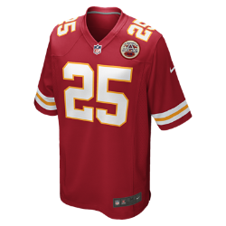 NFL Kansas City Chiefs (Jamaal Charles) Men's American Football Home Game Jersey