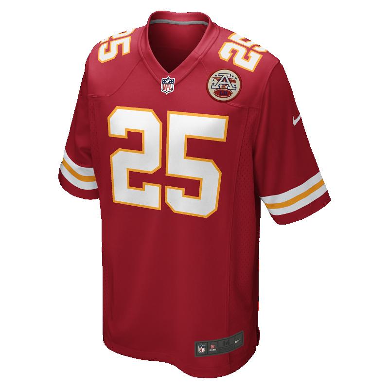 Image For Maillot de football américain domicile NFL Kansas City Chiefs (Jamaal Charles) pour Homme