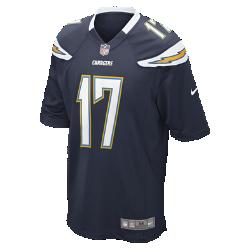 Мужское джерси для американского футбола для игры на своем поле NFL Los Angeles Chargers (Philip Rivers)Болей за любимую команду в джерси NFL Los Angeles&amp;#160;Chargers,созданном под вдохновением от настоящей игровой формы, и сохраняй абсолютный комфорт.<br>
