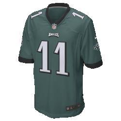 Мужское джерси для американского футбола NFL Philadelphia Eagles (Carson Wentz)МягкостьСиликоновый принт с номером устойчив к повреждениям и не утяжеляет джерси.<br>
