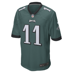 NFL Philadelphia Eagles (Carson Wentz) Men's American Football Game Jersey