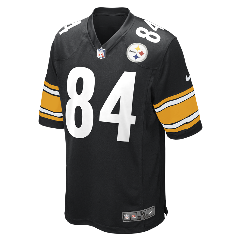 Image For Maillot de football américain domicile NFL Pittsburgh Steelers (Antonio Brown) pour Homme