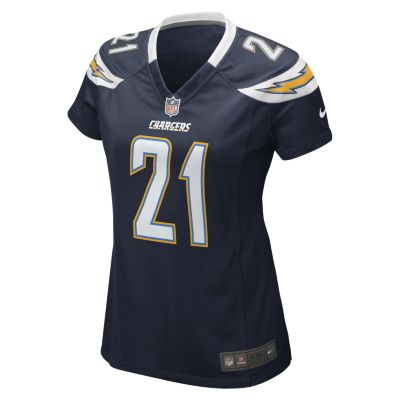 NFL San Diego Chargers (LaDainian Tomlinson) Womens Football Home Game Jersey