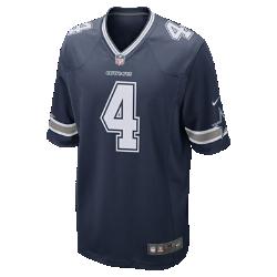 Мужское джерси для американского футбола NFL Dallas Cowboys Game (Dak Prescott)Болей за любимую команду в джерси NFL Dallas Cowboys Game Jersey, которое создано под вдохновением от игры лучших игроков и обеспечивает абсолютный комфорт.<br>
