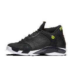 Мужские кроссовки Air Jordan 14 RetroМужские кроссовки Air Jordan 14 Retro, сочетающие в себе легендарный стиль и комфорт, обеспечивают амортизацию благодаря вставкам Nike Air.<br>