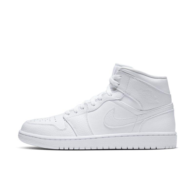 Air Jordan 1 Mid Schoen - Wit