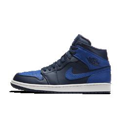 Мужские кроссовки Air Jordan 1 MidМужские кроссовки Air Jordan 1 Mid созданы в стиле оригинальной модели AJ1 1985 года. Кожа и вставка Air-Sole обеспечивают длительный комфорт и позволяют создать элегантный образ.<br>