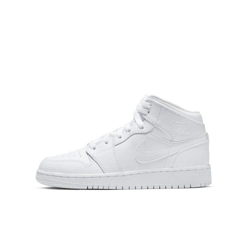 Air Jordan 1 Mid Kinderschoen - Wit