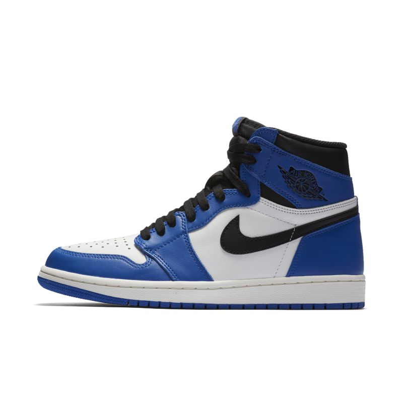 Nike Air Jordan 1 Retro High OG Shoe - Blue Thumbnail Image