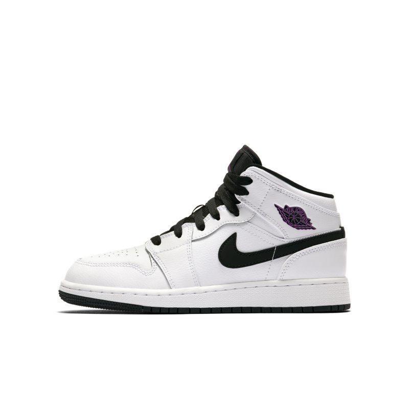 c8c946acd5e7a Nike Air Jordan 1 Mid (3-6) Older Kids  Shoe - White