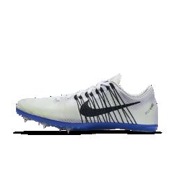 Шиповки унисекс для бега на средние дистанции Nike Zoom Victory 2Шиповки унисекс для бега Nike Zoom Victory 2 –– это улучшенная версия предыдущей модели с мягкими и прочными нитями Flywire и верхом из однослойной сетки. Они идеально подходят для бега на средние дистанции.<br>