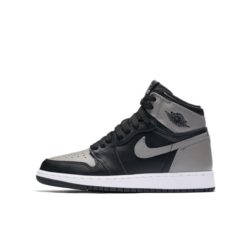 Nike Air Jordan 1 Retro High OG Older Kids' Shoe - Black Image
