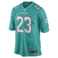 Мужское джерси для американского футбола для игры на своем поле NFL Miami Dolphins Game (Jay Ajayi)Сохраняй абсолютный комфорт в джерси NFL Miami Dolphins Game, вдохновленном настоящей игровой формой команды.<br>