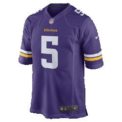 Мужское джерси в расцветке домашней формы NFL Minnesota Vikings (Teddy Bridgewater)Болей за любимую команду в джерси NFL Minnesota Vikings, вдохновленном настоящей игровой формой, и сохраняй абсолютный комфорт.  Продуманный крой  Продуманный крой обеспечивает комфортную посадку и позволяет создать современный образ.  Мягкость  Силиконовый принт с номером устойчив к повреждениям и не утяжеляет джерси  Абсолютный комфорт  Отсутствие этикетки под воротником обеспечивает дополнительный комфорт.<br>