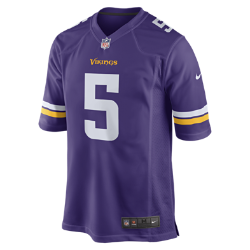 Image of Maglia da football americano NFL Minnesota Vikings (Teddy Bridgewater) Home Game - Uomo