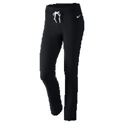 Женские брюки Nike SportswearЖенские брюки Nike Sportswear обеспечивают комфорт на каждый день благодаря гладкой смесовой ткани на основе полиэстера и спандекса, а также регулируемой посадке.<br>