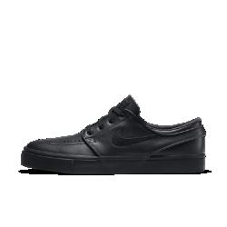 Мужская обувь для скейтбординга Nike SB Zoom Stefan Janoski LeatherМужская обувь для скейтбординга Nike SB Zoom Stefan Janoski Leather с прочным верхом из первоклассной кожи и гибкой подошвой для комфорта весь день. Подметка из натуральной резиныобеспечивает непревзойденное сцепление.<br>