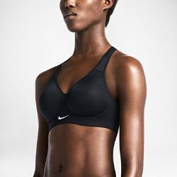 Спортивное бра с высокой поддержкой Nike RivalСпортивное бра с высокой поддержкой Nike Rival из трикотажного материала с бесшовными чашками обеспечивает превосходную поддержку для полного контроля движений во время интенсивных тренировок, например бега, игры в баскетбол и танцев.<br>