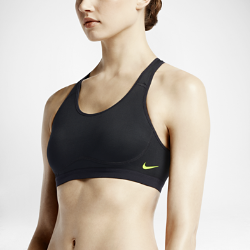 Спортивное бра со средней поддержкой Nike FierceСпортивное бра со средней поддержкой Nike Fierce из влагоотводящей ткани с анатомическим кроем, выгодно подчеркивающим форму груди, обеспечивает комфорт во время такихзанятий, как велоспорт, танцы и кардиотренировки.<br>