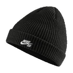 好評2019年夏発売!ナイキ SB フィッシャーマン ニット帽 628684-011 ブラックの画像